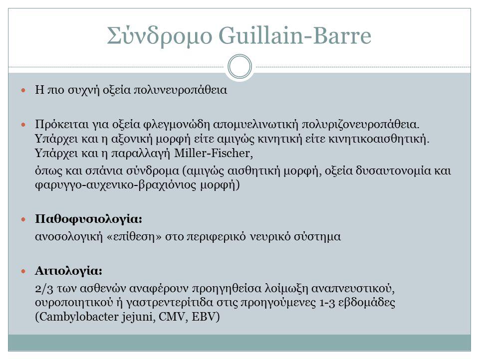 Σύνδρομο Guillain-Barre