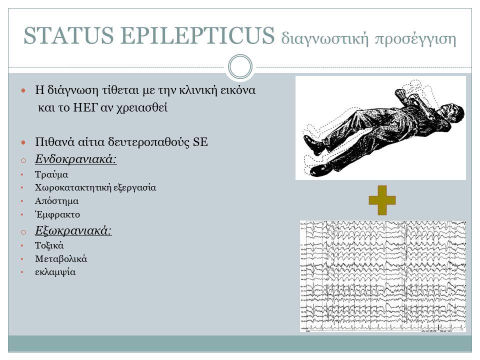 STATUS EPILEPTICUS διαγνωστική προσέγγιση