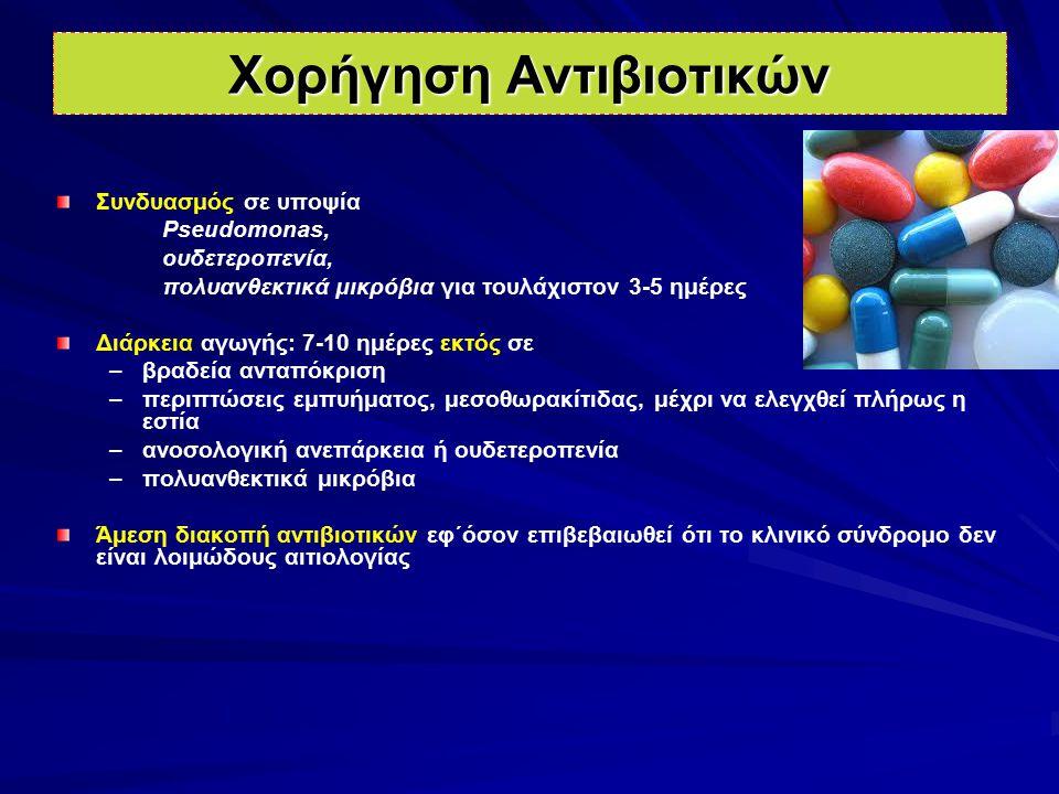 Χορήγηση Αντιβιοτικών