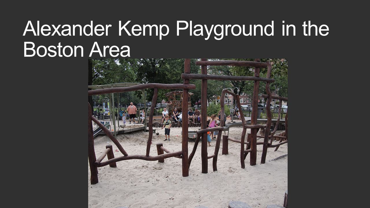 Alexander Kemp Playground in the Boston Area