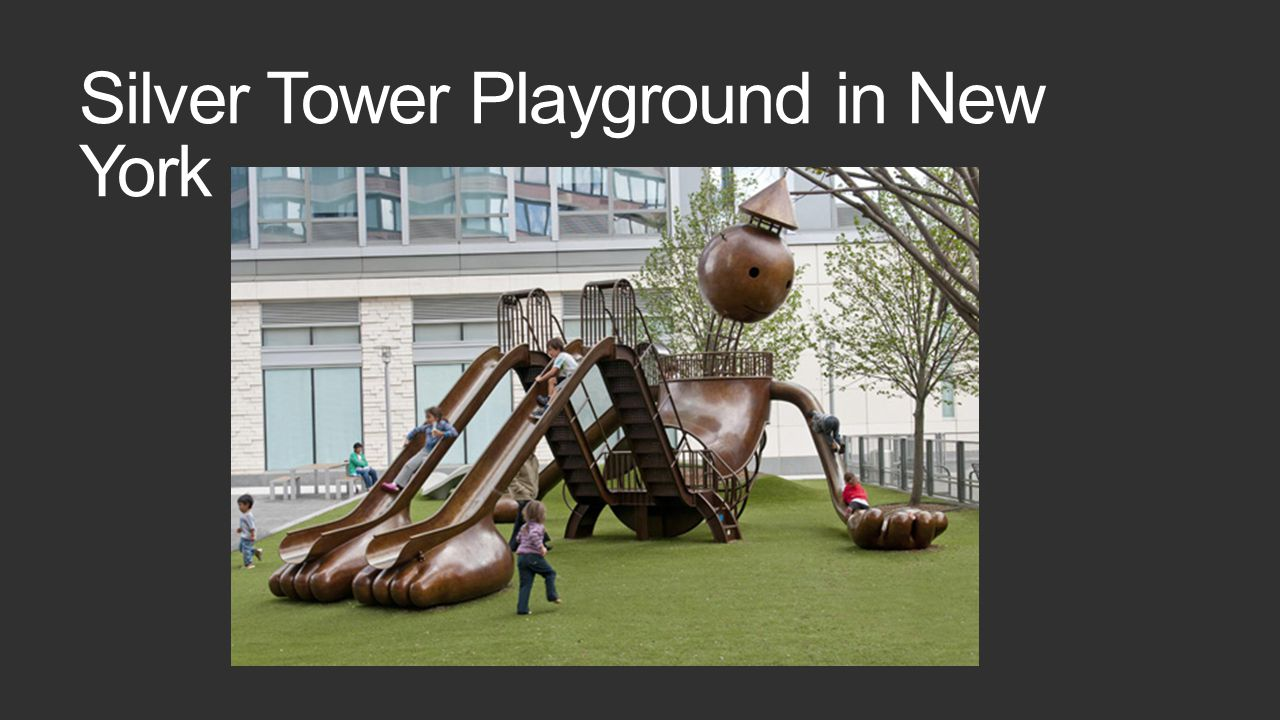 Silver Tower Playground in New York