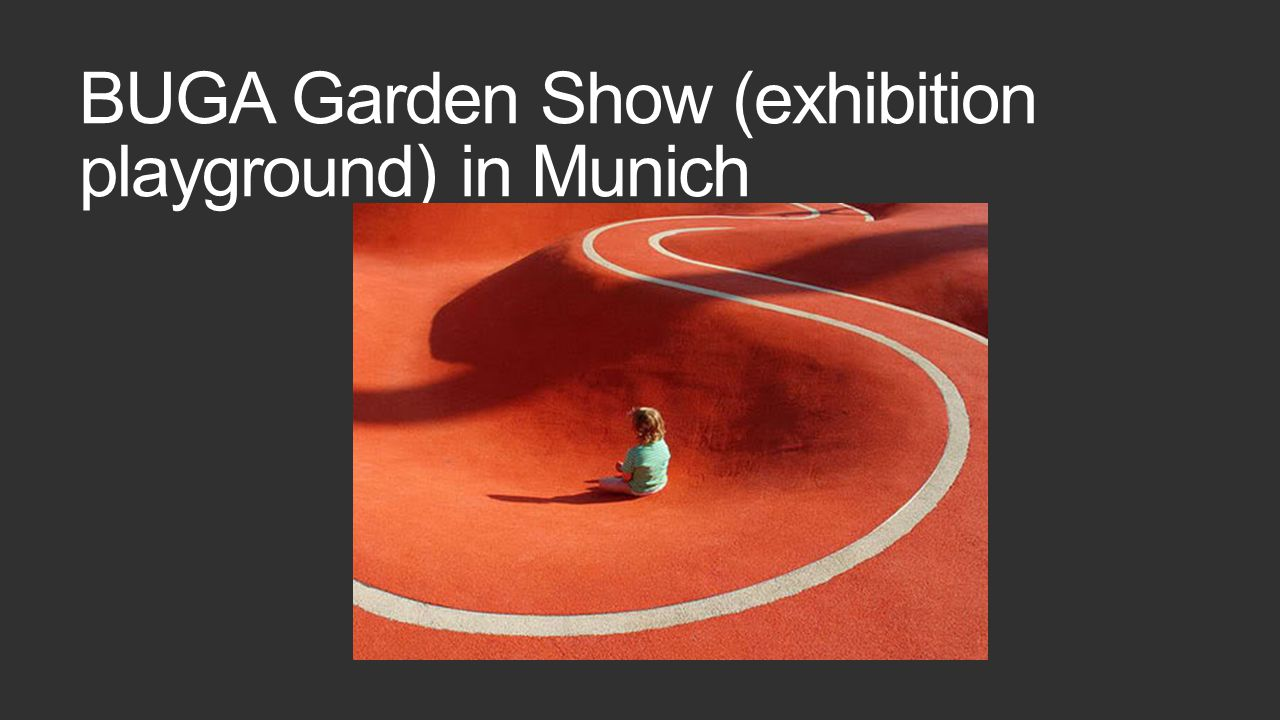 BUGA Garden Show (exhibition playground) in Munich