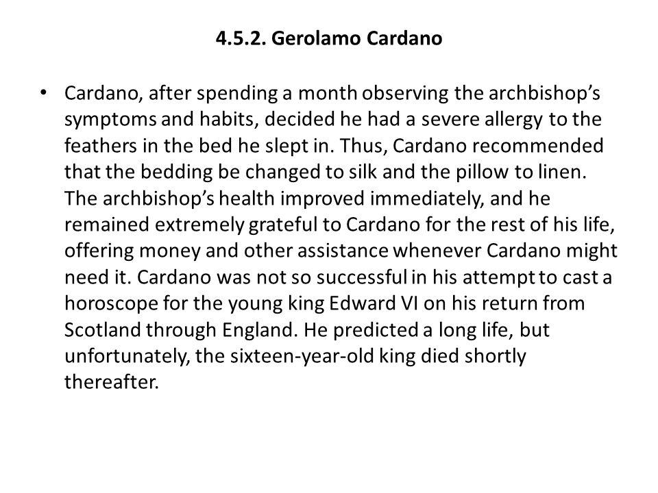 4.5.2. Gerolamo Cardano