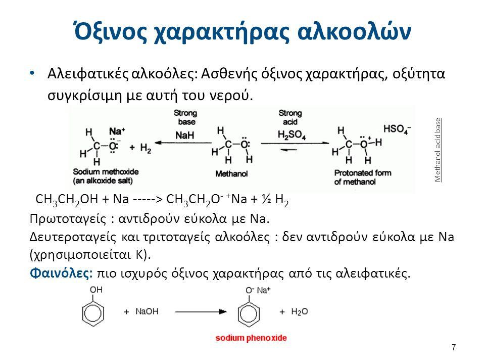 Μέθοδοι σύνθεσης αλκοολών (1/3)