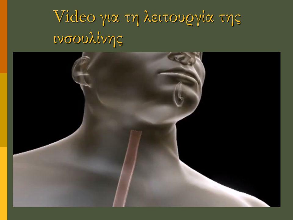 Video για τη λειτουργία της ινσουλίνης