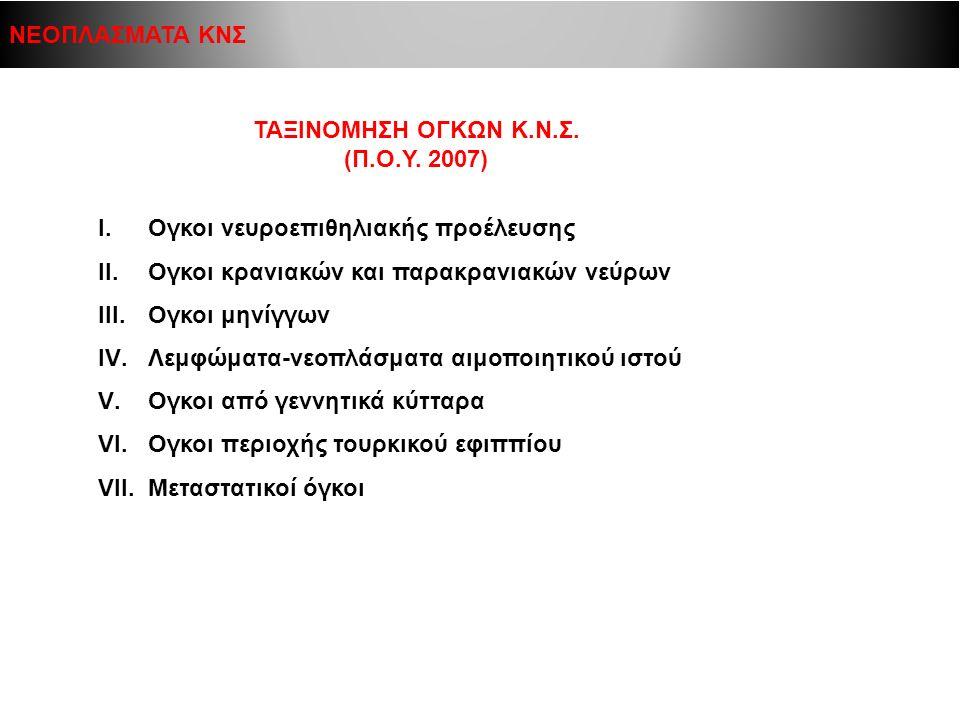 ΤΑΞΙΝΟΜΗΣΗ ΟΓΚΩΝ Κ.Ν.Σ. (Π.Ο.Υ. 2007)