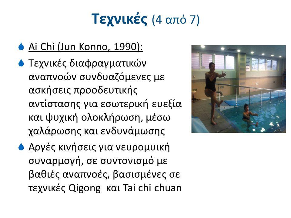 Τεχνικές (5 από 7) Watsu (Dull, 1980), ιαματικές πηγές Harbin, California: