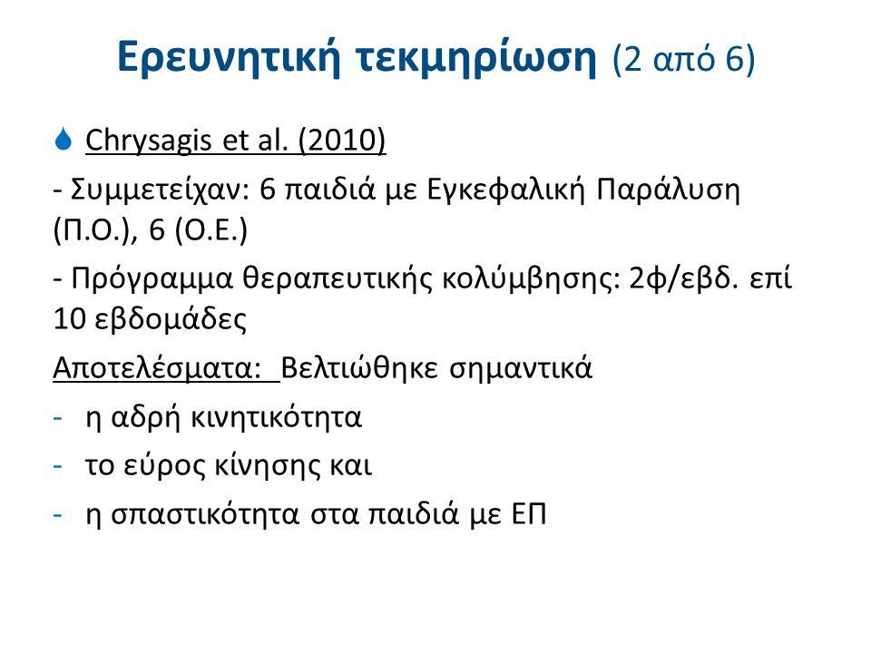 Ερευνητική τεκμηρίωση (3 από 6)