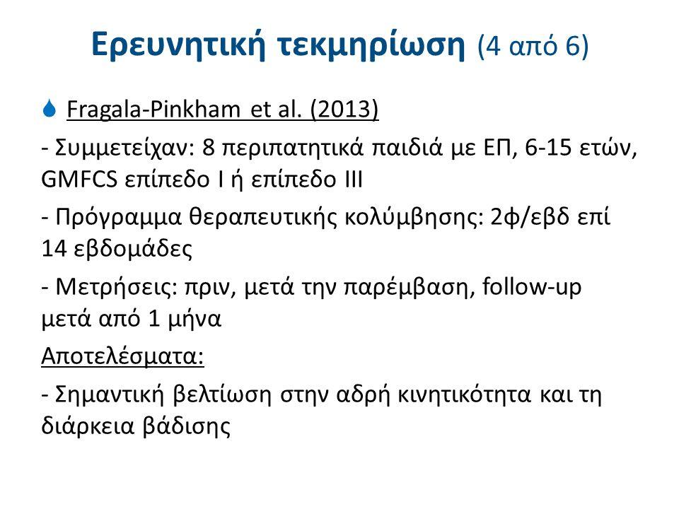 Ερευνητική τεκμηρίωση (5 από 6)