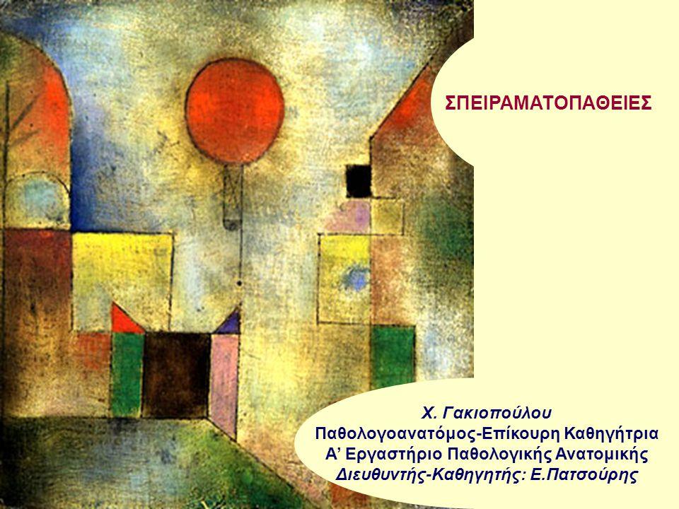 ΣΠΕΙΡΑΜΑΤOΠAΘΕΙΕΣ Χ. Γακιοπούλου Παθολογοανατόμος-Επίκουρη Καθηγήτρια