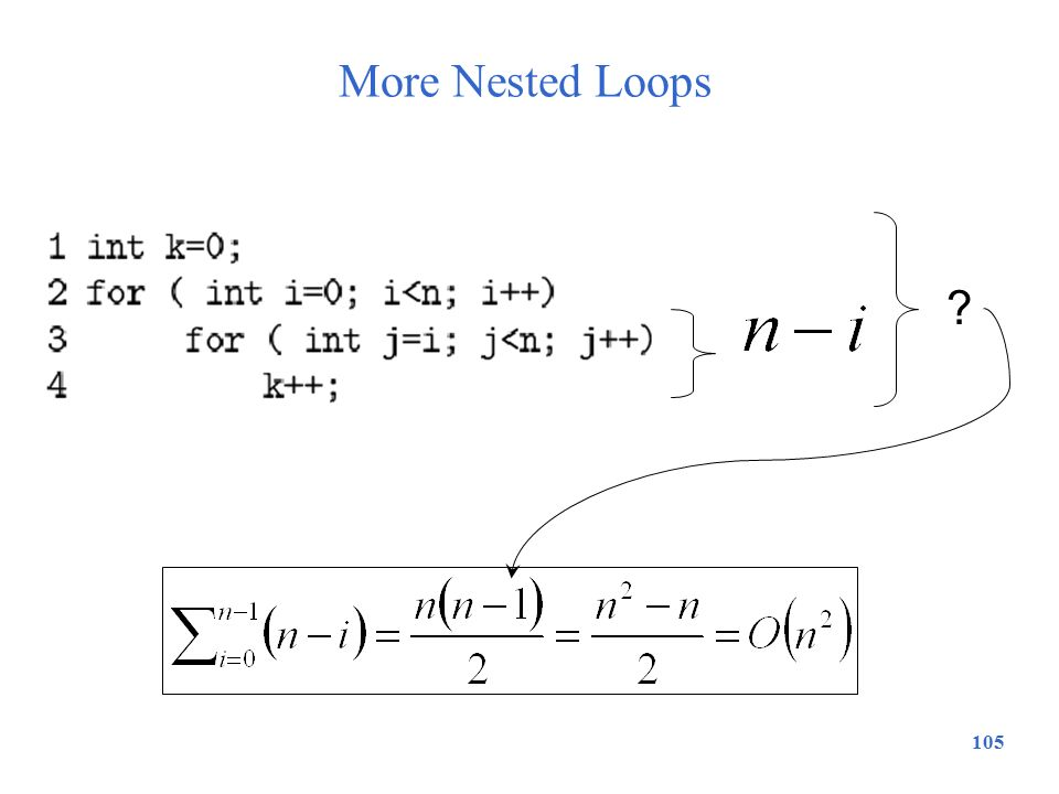 More Nested Loops