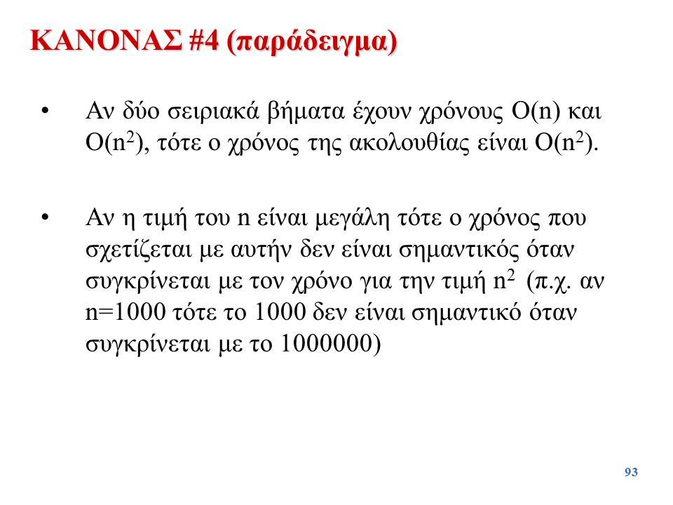 ΚΑΝΟΝΑΣ #4 (παράδειγμα)
