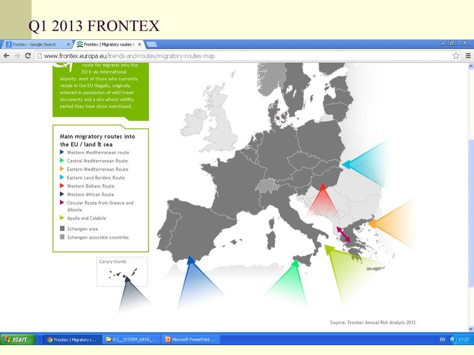 Q1 2013 FRONTEX