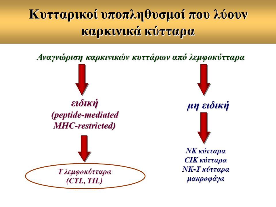 Κυτταρικοί υποπληθυσμοί που λύουν