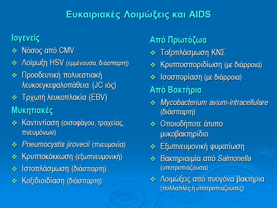 Ευκαιριακές Λοιμώξεις και AIDS