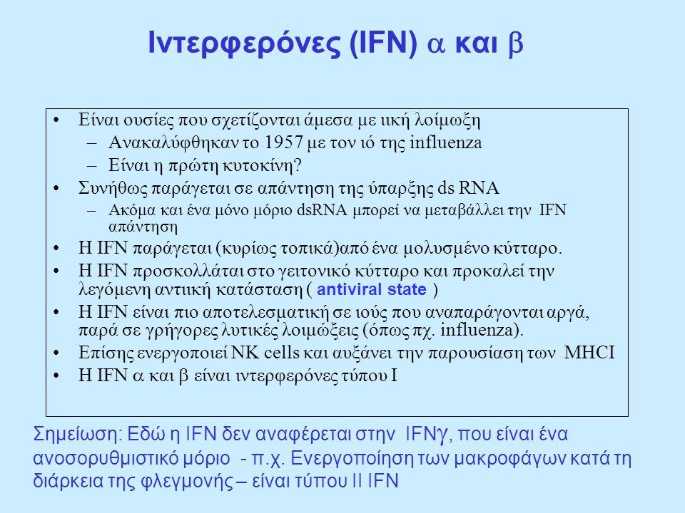 Iντερφερόνες (IFN) a και b
