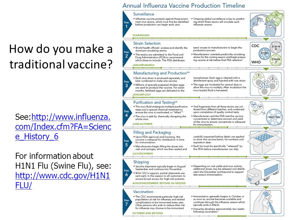 How do you make a traditional vaccine