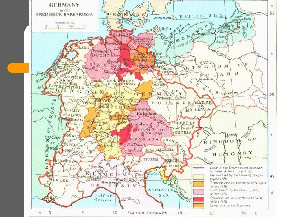 Η Δυναστεία των Hohenstaufen (1125-1268) Αγία Ρωμαϊκή Αυτοκρατορία