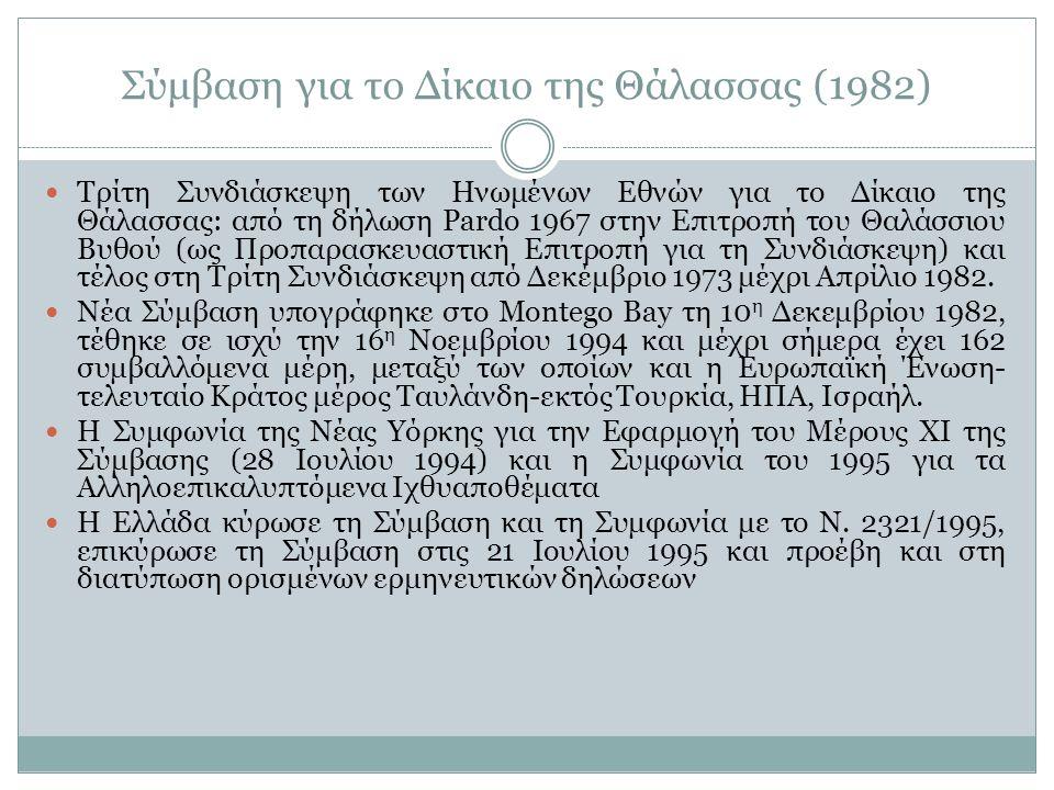 Σύμβαση για το Δίκαιο της Θάλασσας (1982)