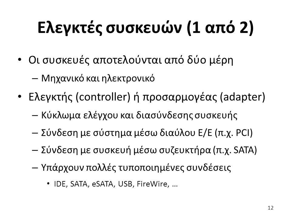 Ελεγκτές συσκευών (1 από 2)