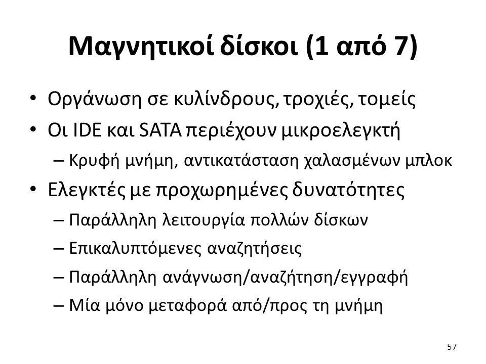 Μαγνητικοί δίσκοι (1 από 7)