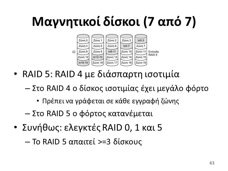Μαγνητικοί δίσκοι (7 από 7)
