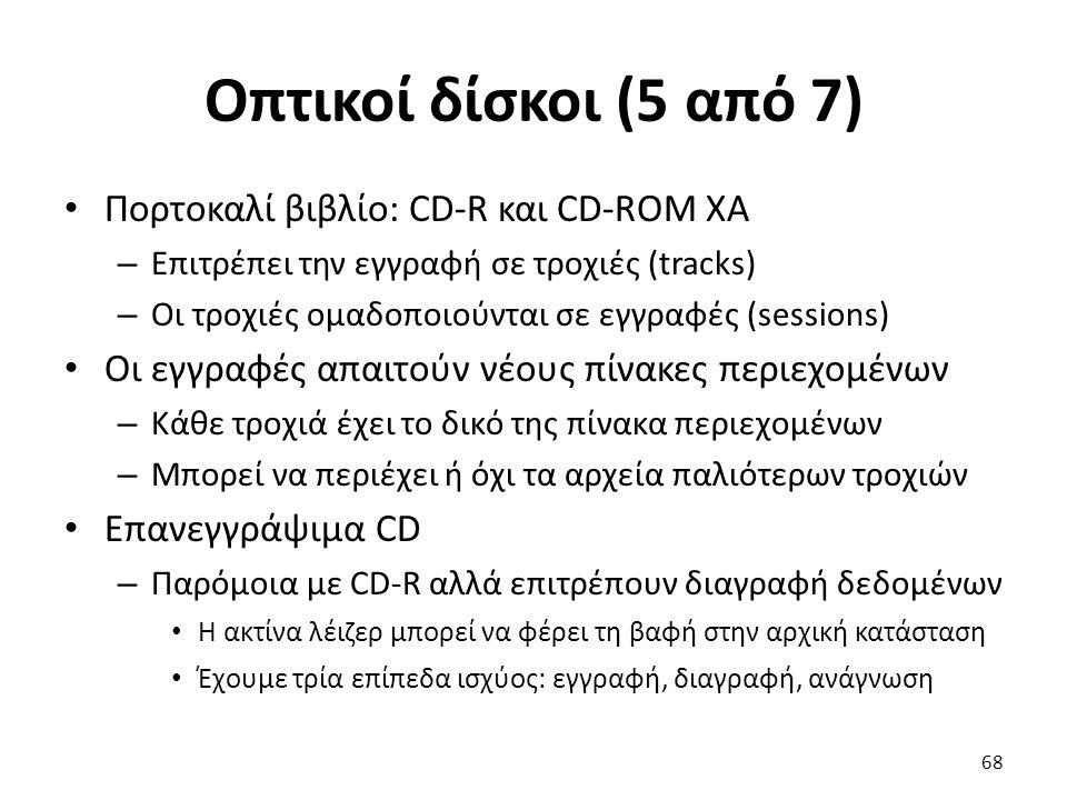 Οπτικοί δίσκοι (5 από 7) Πορτοκαλί βιβλίο: CD-R και CD-ROM XA