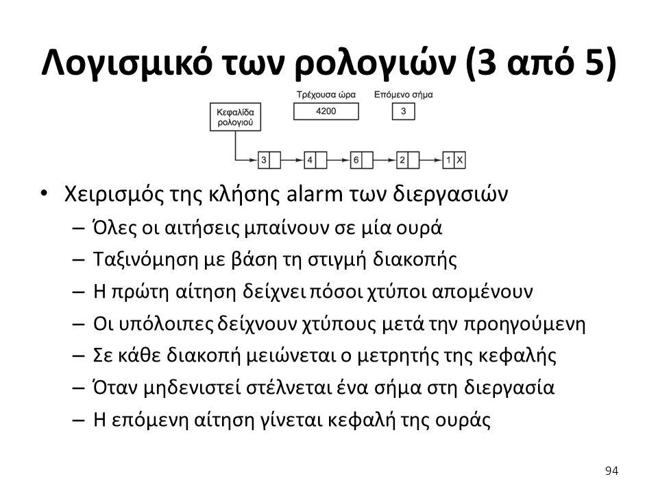 Λογισμικό των ρολογιών (3 από 5)