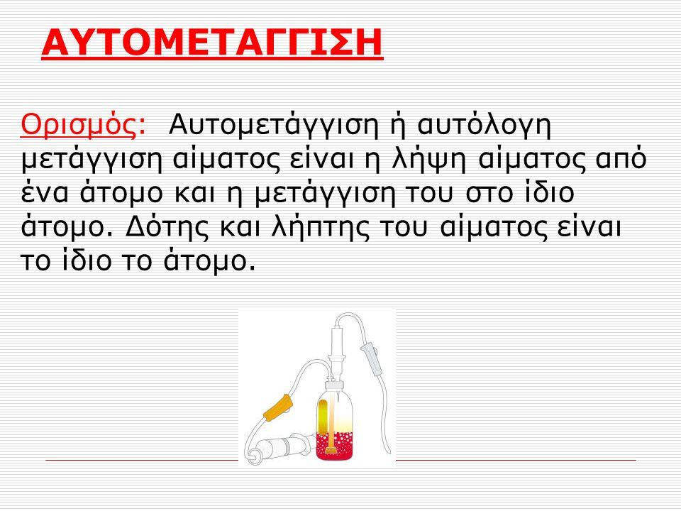 ΑΥΤΟΜΕΤΑΓΓΙΣΗ