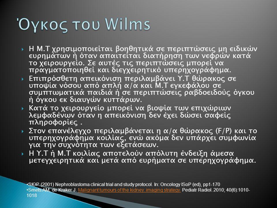 Όγκος του Wilms
