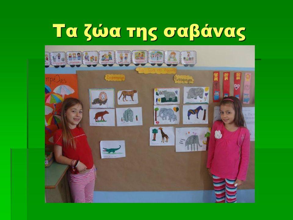 Τα ζώα της σαβάνας