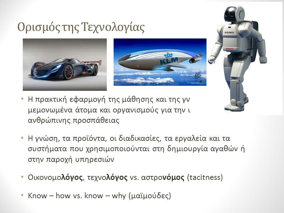 Ορισμός της Τεχνολογίας