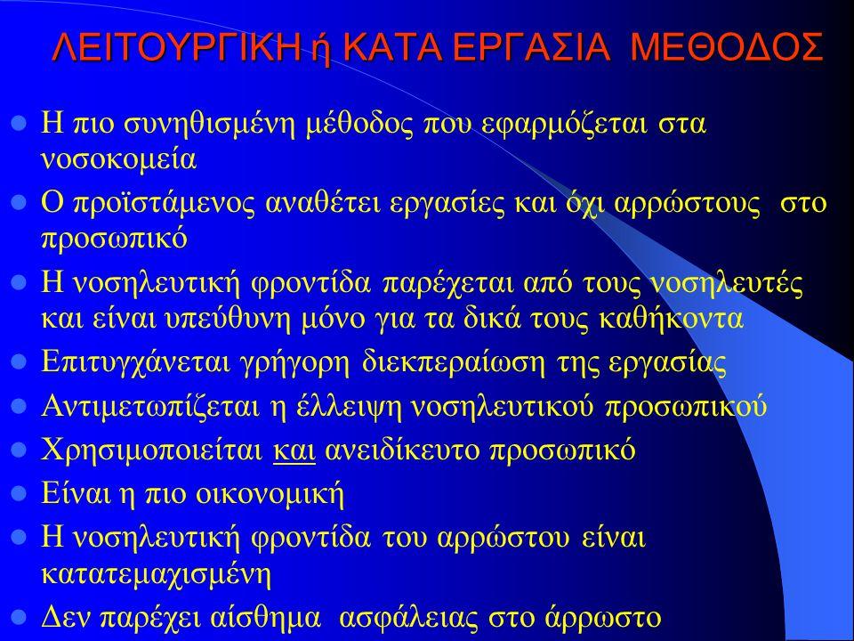 ΛΕΙΤΟΥΡΓΙΚΗ ή ΚΑΤA ΕΡΓΑΣΙΑ ΜΕΘΟΔΟΣ
