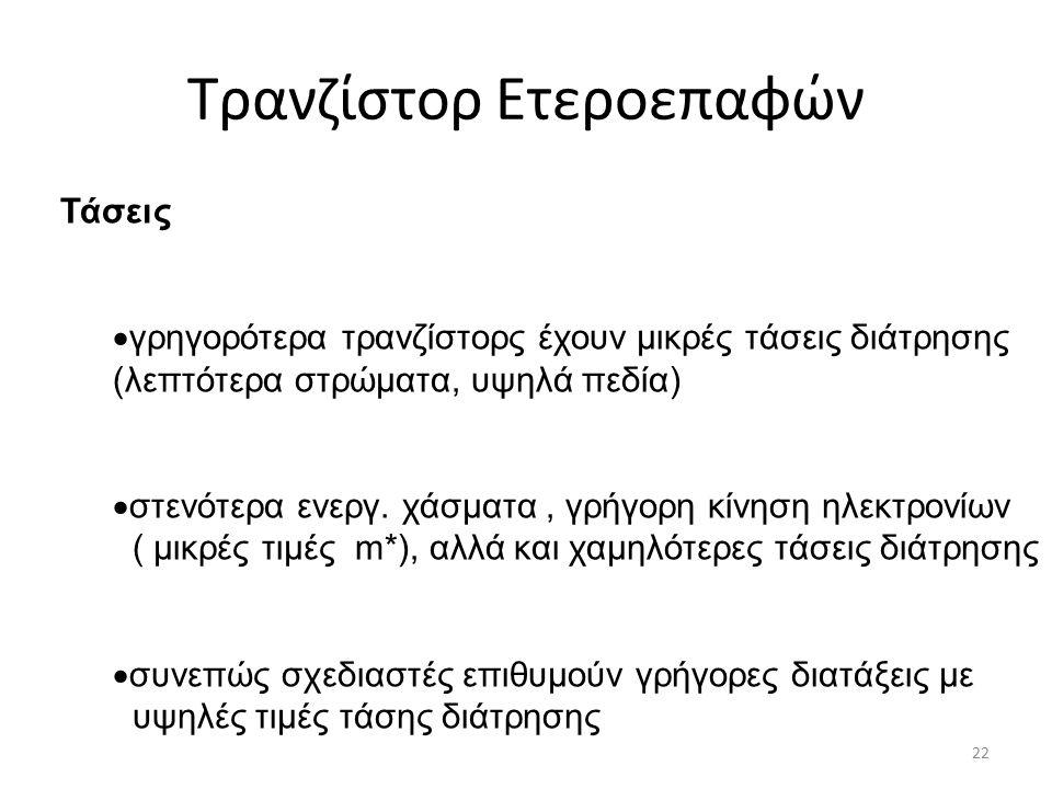 Τρανζίστορ Ετεροεπαφών