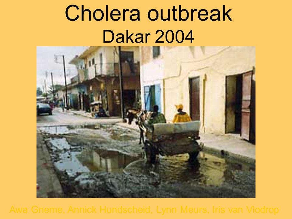 Cholera outbreak Dakar 2004
