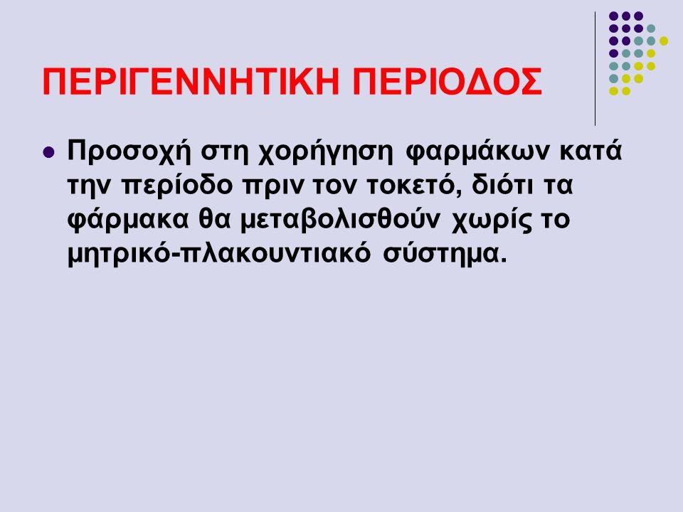ΠΕΡΙΓΕΝΝΗΤΙΚΗ ΠΕΡΙΟΔΟΣ
