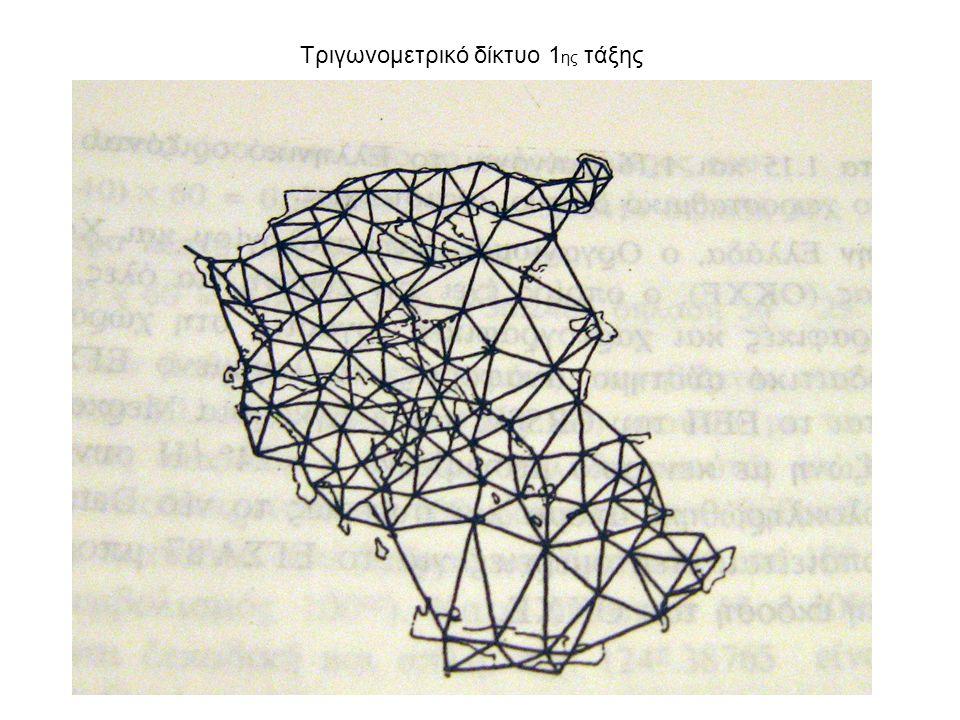 Τριγωνομετρικό δίκτυο 1ης τάξης
