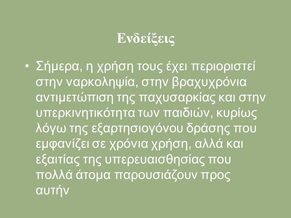Ενδείξεις