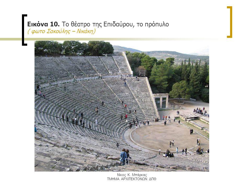 Nίκος Κ. Μπάρκας ΤΜΗΜΑ ΑΡΧΙΤΕΚΤΟΝΩΝ ΔΠΘ