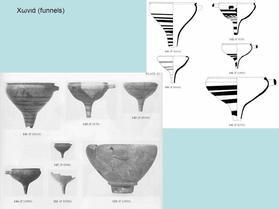 Χωνιά (funnels)