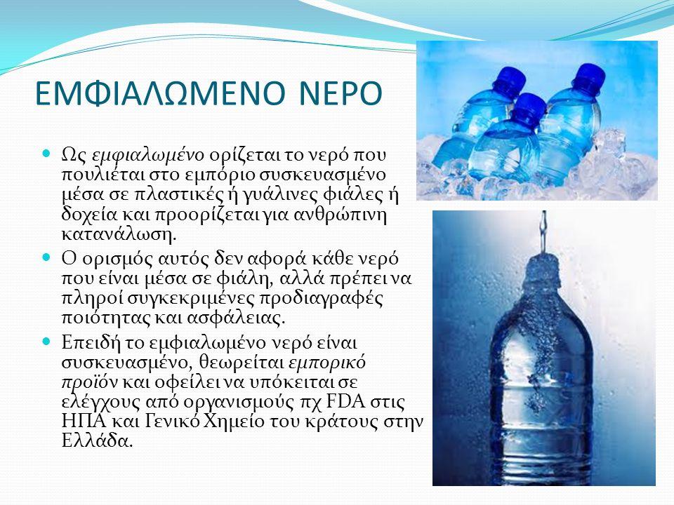 ΕΜΦΙΑΛΩΜΕΝΟ ΝΕΡΟ