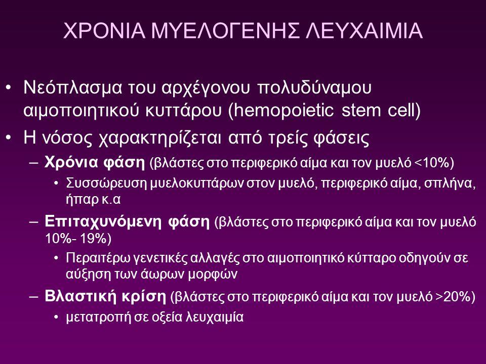 ΧΡΟΝΙΑ ΜΥΕΛΟΓΕΝΗΣ ΛΕΥΧΑΙΜΙΑ