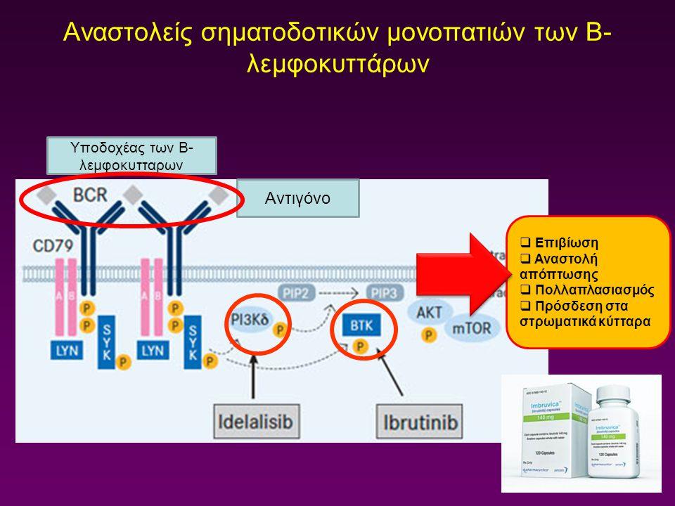 Αναστολείς σηματοδοτικών μονοπατιών των Β-λεμφοκυττάρων