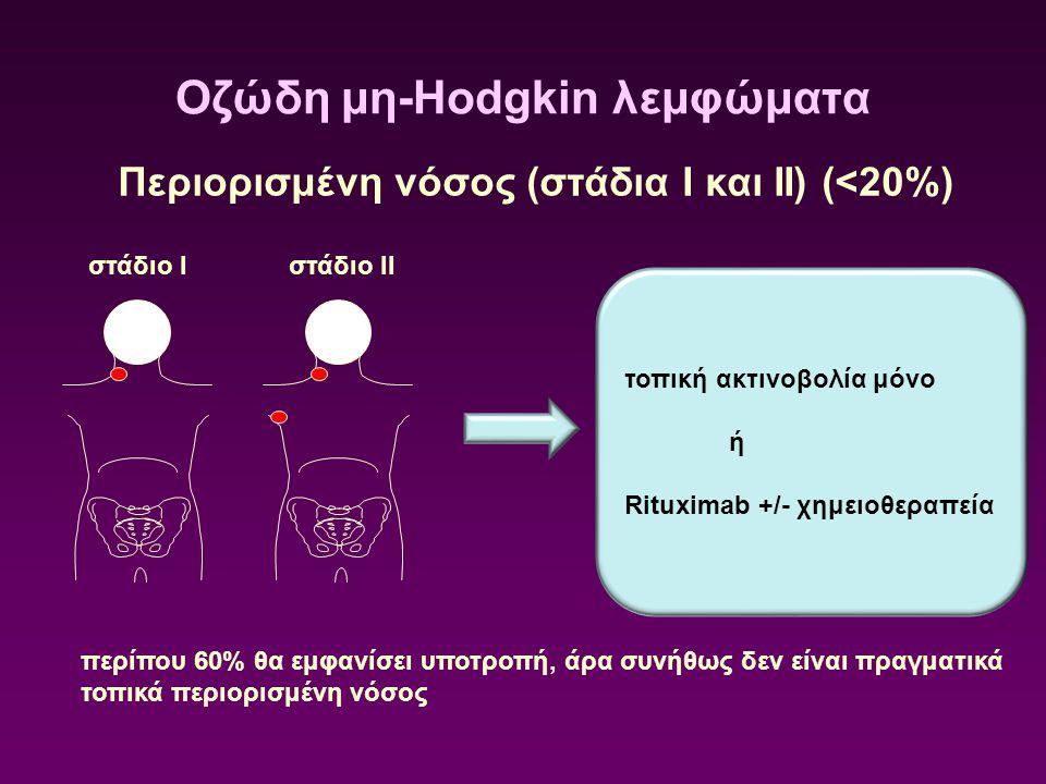 Οζώδη μη-Hodgkin λεμφώματα