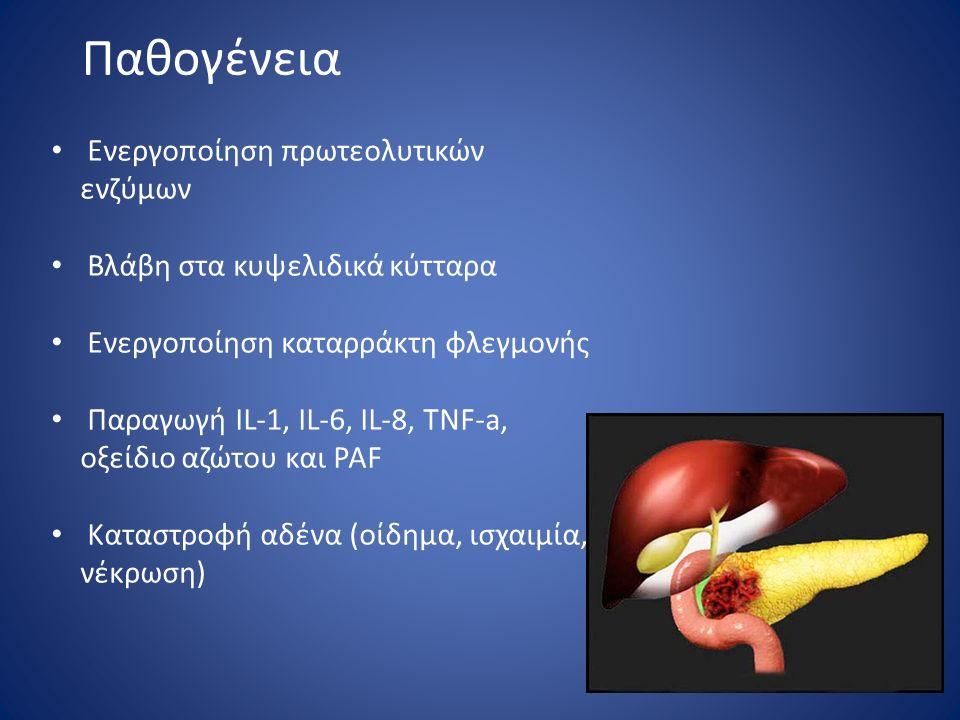 Παθογένεια Ενεργοποίηση πρωτεολυτικών ενζύμων