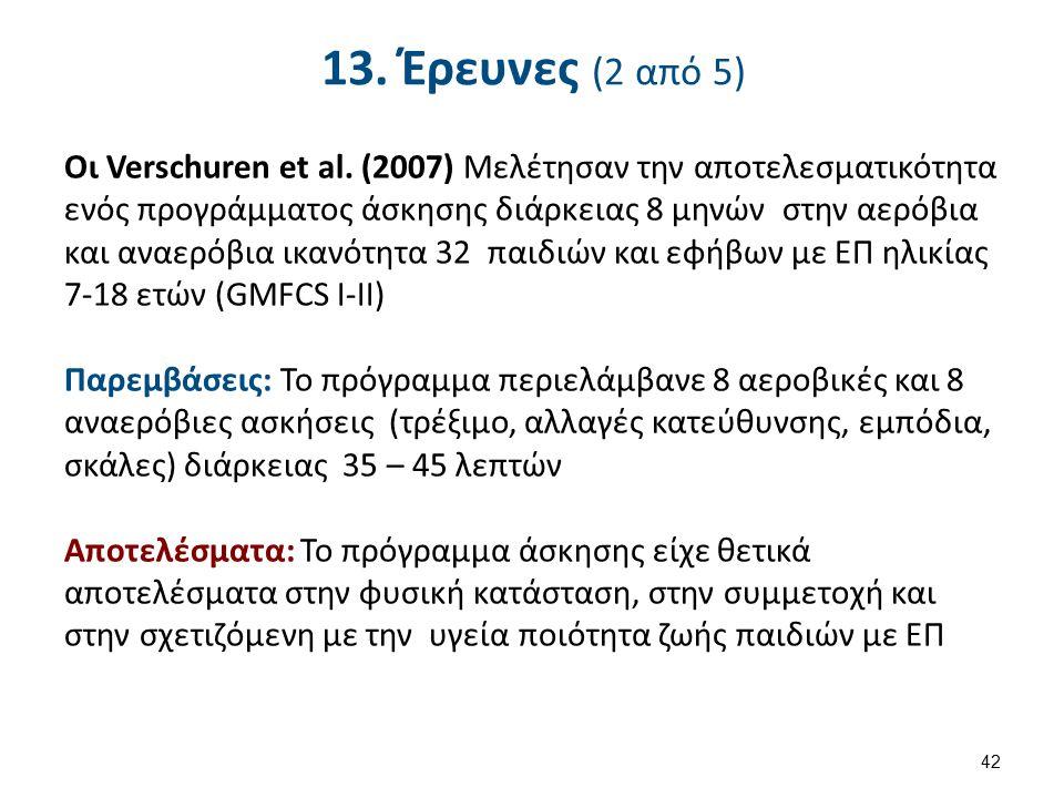 13. Έρευνες (3 από 5)