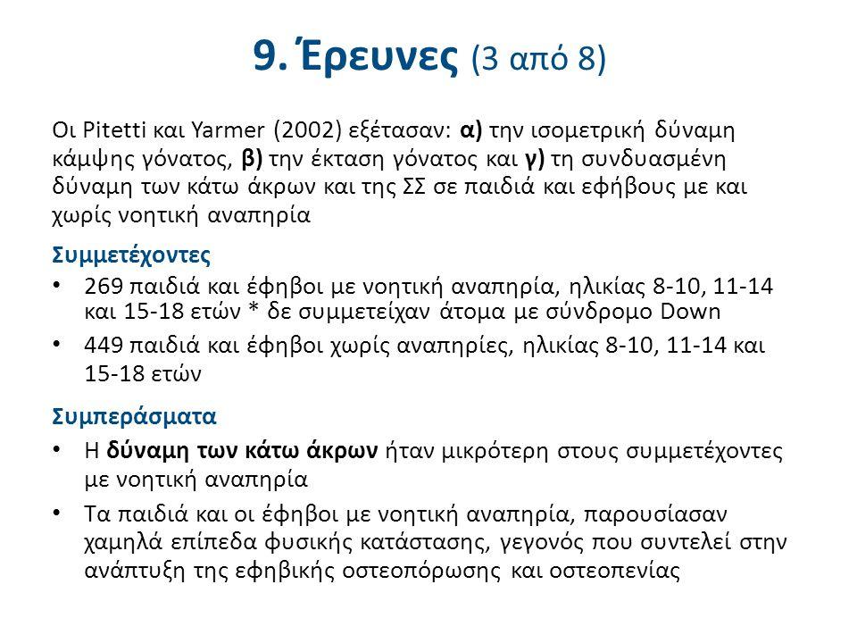 9. Έρευνες (4 από 8)