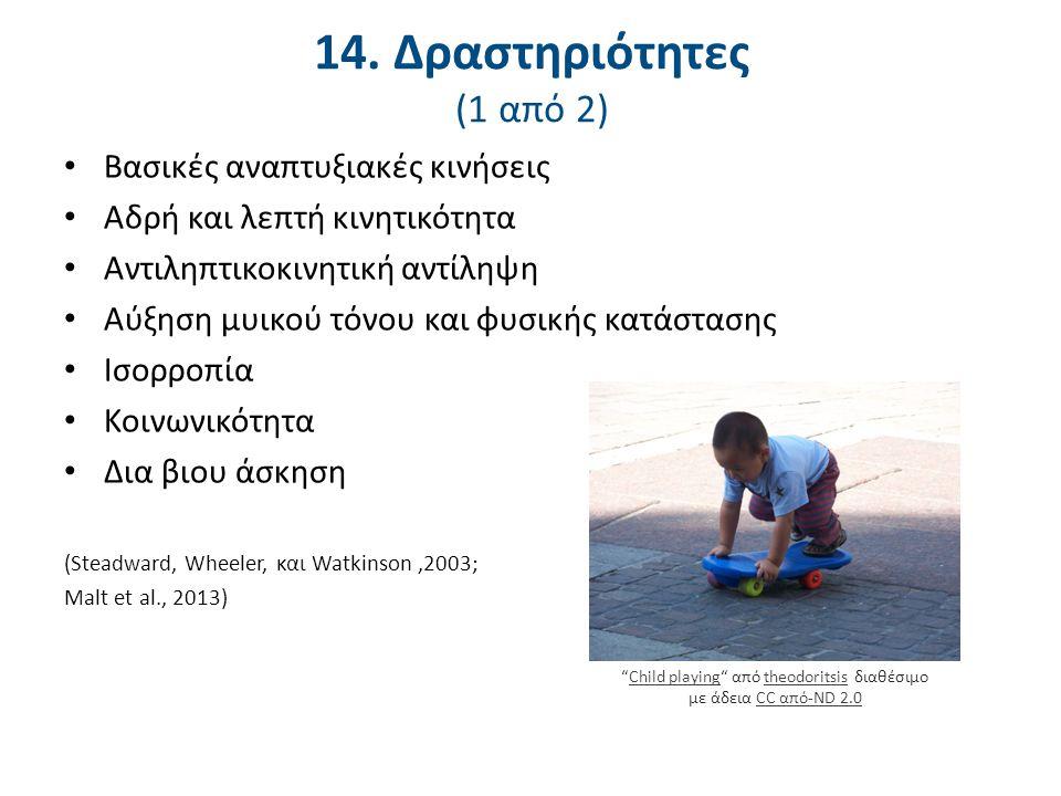 14. Ακατάλληλες δραστηριότητες (2 από 2)