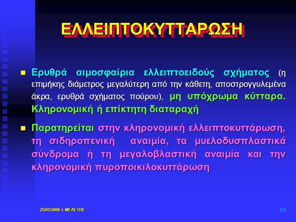 ΕΛΛΕΙΠΤΟΚΥΤΤΑΡΩΣΗ