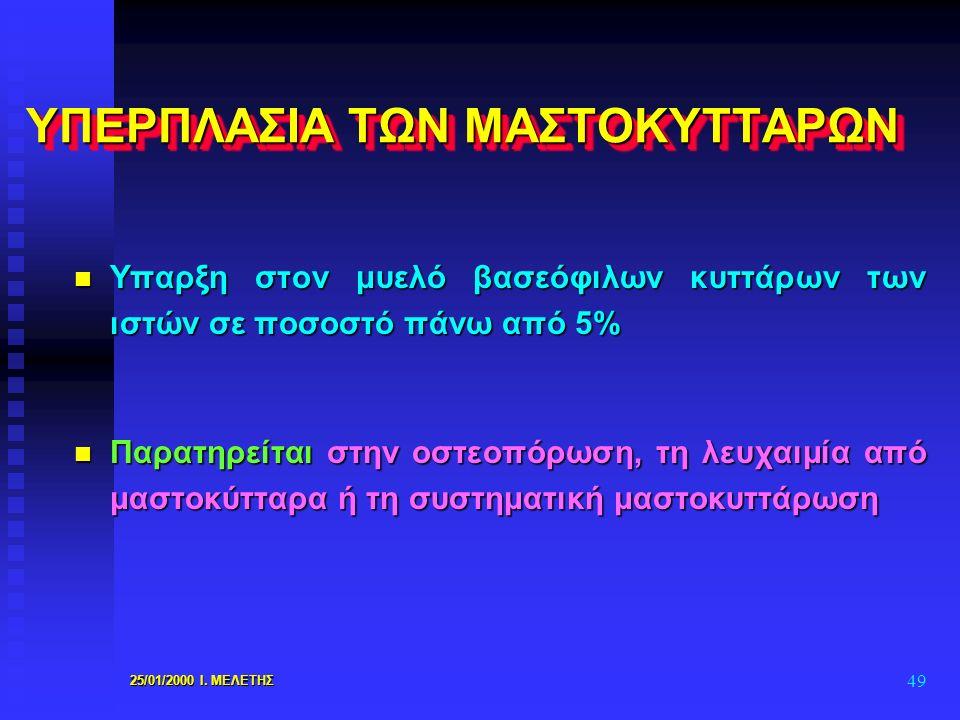 ΥΠΕΡΠΛΑΣΙΑ ΤΩΝ ΜΑΣΤΟΚΥΤΤΑΡΩΝ